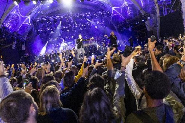 Plusieurs milliers de personnes au concert des 50 ans de la Fédération Wallonie-Bruxelles