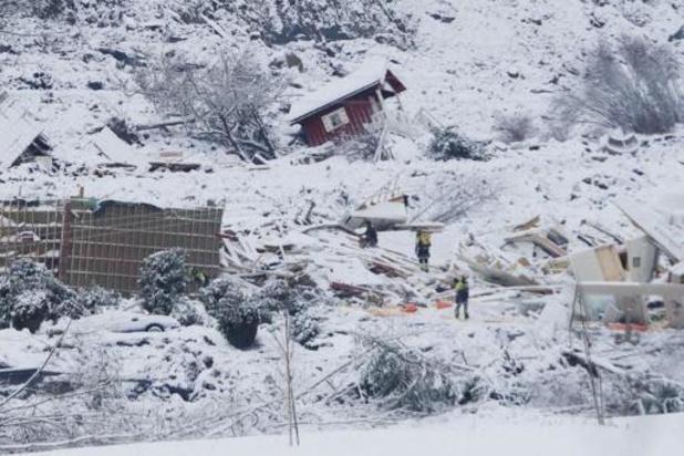 Glissement de terrain en Norvège: un corps retrouvé, poursuite des recherches