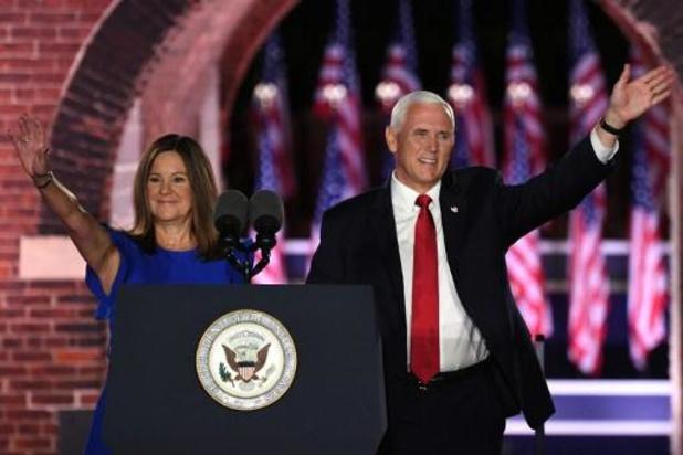 Amerikaanse vicepresident Mike Pence test negatief