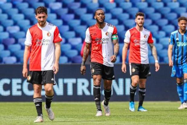 Ajax zet landstitel kracht bij met ruime zege op Feyenoord