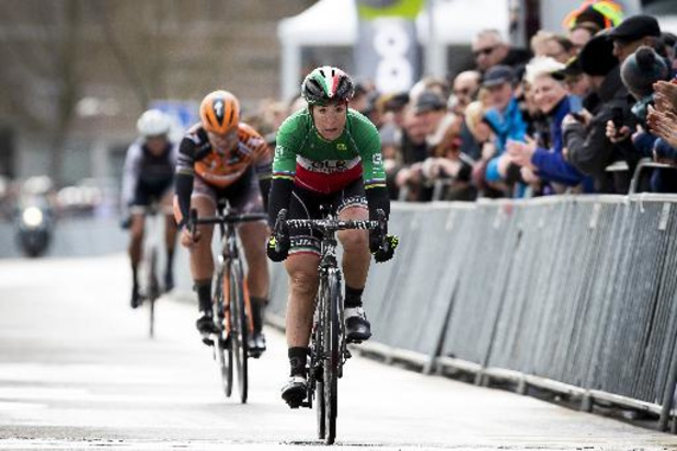 L'Italienne Marta Bastianelli s'adjuge la première étape de la 7e édition du Tour de Grande-Bretagne féminin