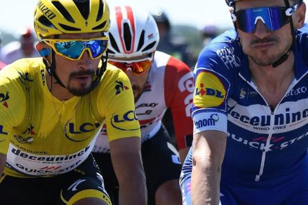Tour de France - Dries Devenyns zag Alaphilippe winnen op smartphone van supporter