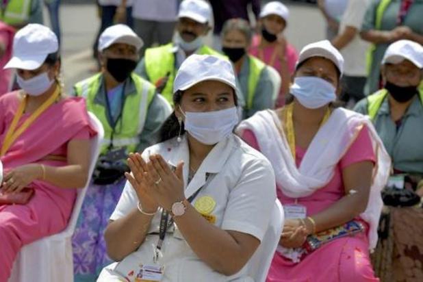 India registreert 34.000 nieuwe besmettingen, het laagste aantal in vier maanden
