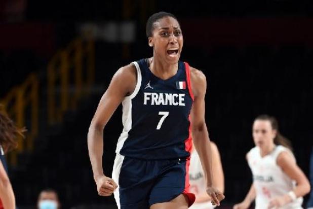 La France médaillée de bronze du tournoi de basket féminin