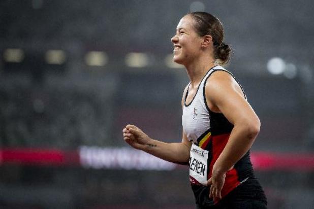 """Paralympische Spelen - Gitte Haenen is teleurgesteld na negende plaats in verspringen: """"Ik hoopte op meer"""""""