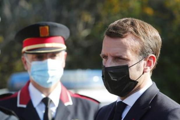 Macron verscherpt grenscontroles en roept op tot grenspolitie Schengenzone
