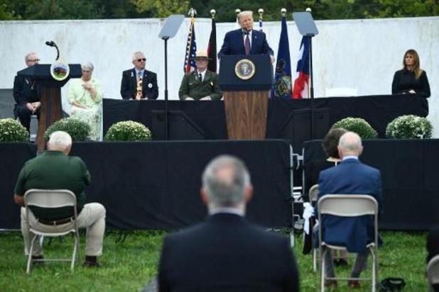 Trump en Biden herdenken aanslagen op 11 september