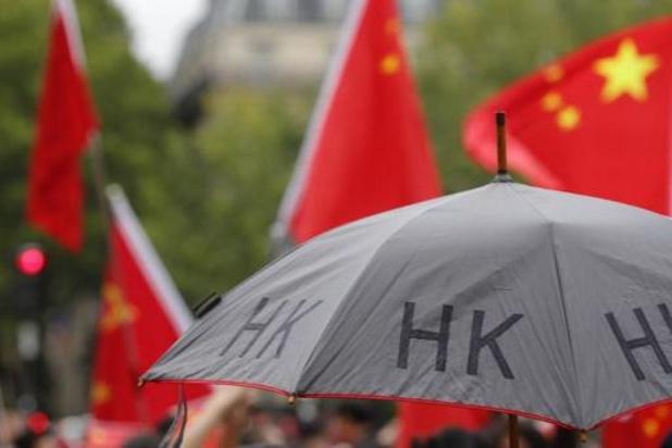 China verbiedt export van zwarte t-shirts en paraplu's