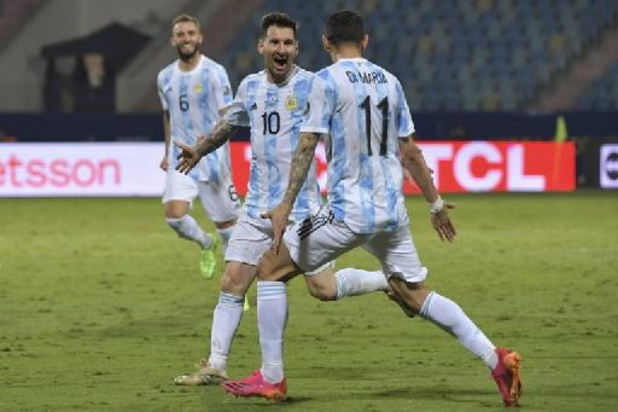 Copa America - L'Argentine de Lionel Messi rejoint la Colombie en demi-finales de la Copa America