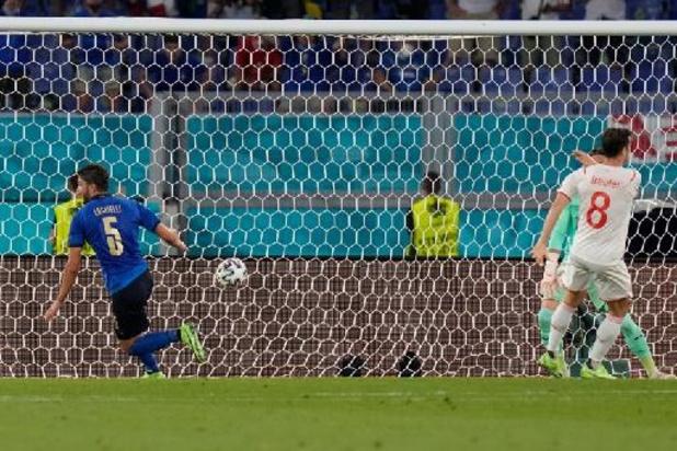 Euro 2020 - L'Italie domine la Suisse 3-0 et assure sa place en huitièmes de finale