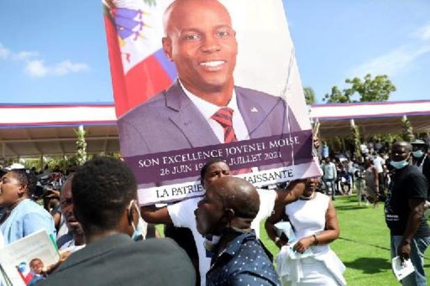 Schoten afgevuurd op begrafenis Haïtiaanse president, VS- en VN-delegaties vertrekken