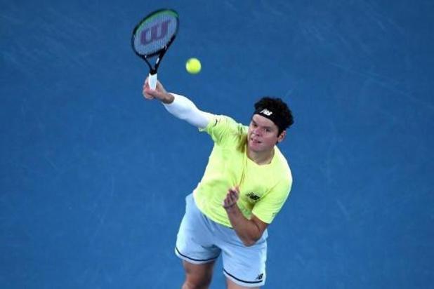 ATP Cincinatti - Milos Raonic premier finaliste