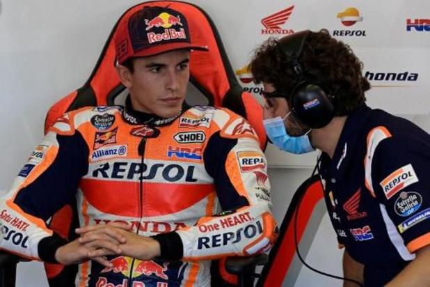 Marc Marquez ne participera pas au Grand Prix d'Andalousie