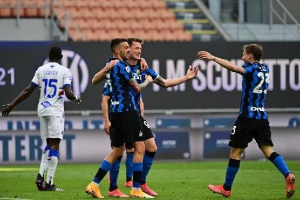 Belgen in het buitenland - Inter heeft Lukaku niet nodig om landstitel op te luisteren met riante overwinning