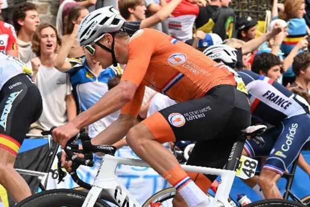 """Mathieu van der Poel: """"Je peux être satisfait de ma prestation"""""""