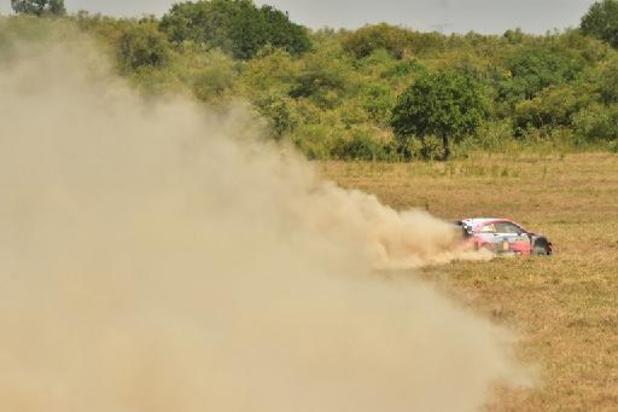 Neuville vergroot voorsprong in Safari Rally