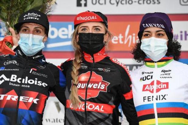Un podium de cyclocross féminin 100% néerlandais en vue samedi à Ostende, Sanne Cant en embuscade