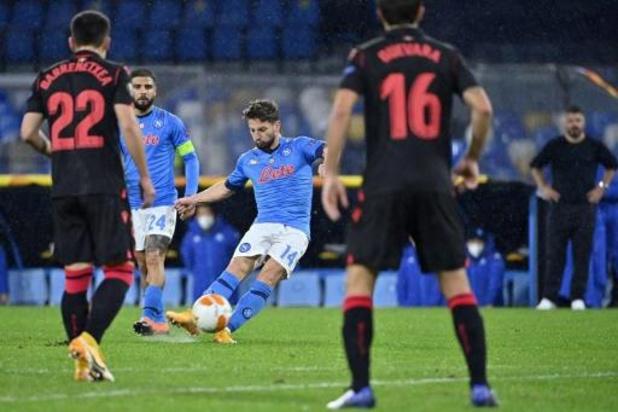Europa League - Six équipes dont Naples et la Real Sociedad assurent leur place en seizièmes de finale