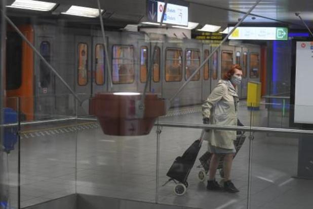 Journée d'actions syndicales - La Stib invite les navetteurs à ne pas prendre le métro sauf s'ils n'ont pas d'alternative