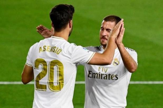 Belgen in het buitenland - Real Madrid laat tegen Valencia geen steek vallen en blijft in spoor van Barcelona