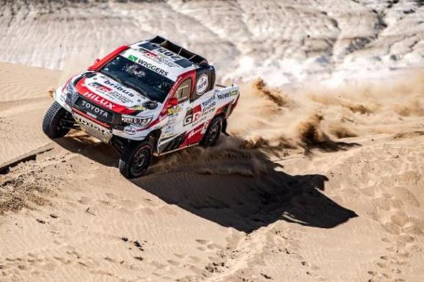 Dakar 2020: Tom Colsoul ambitieux avec son pilote néerlandais Bernhard ten Brinke