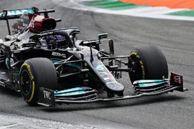GP d'Italie: Lewis Hamilton le plus rapide lors de la première séance d'essais libres