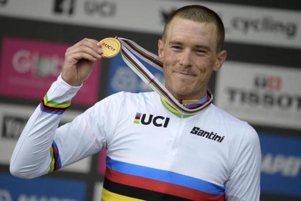 Mondiaux de cyclisme - Un titre mondial après un été agité pour Rohan Dennis