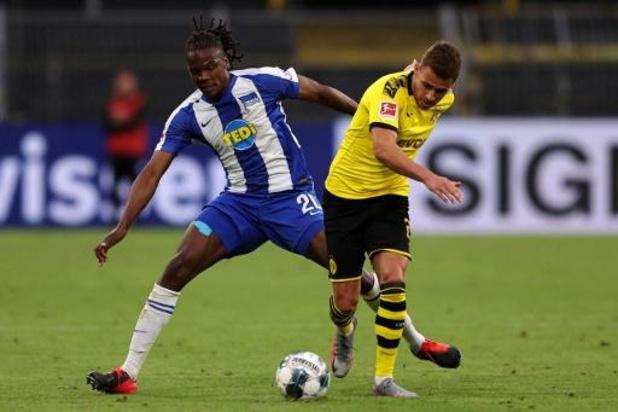 Belgen in het buitenland - Dortmund houdt punten thuis tegen Hertha