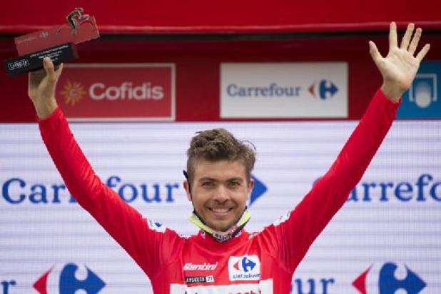 Odd Christian Eiking, une semaine en rouge à la Vuelta, rejoint EF Education