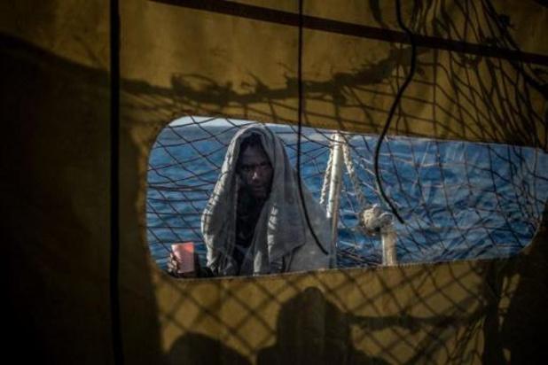 Sea-Watch redt 45 migranten voor de Libische kust