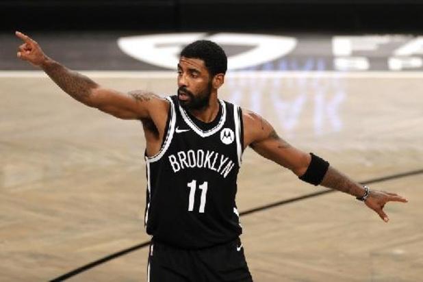 Kyrie Irving, non vacciné, est écarté jusqu'à nouvel ordre par les Brooklyn Nets