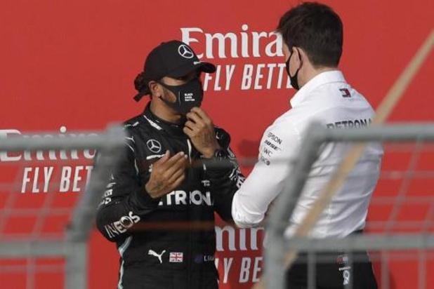 """""""Je ne sais pas si je serai là l'an prochain"""", dit Hamilton"""