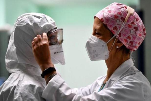 Opnieuw recordaantal nieuwe besmettingen in Italië