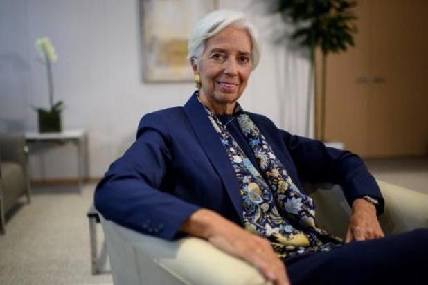 Christine Lagarde formellement nommée à la tête de la BCE
