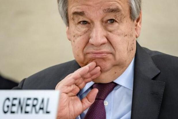 Le chef de l'Onu appelle les représentants religieux à unir leurs forces