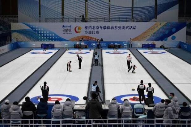 Belgische curlingmannen stoten door in kwalificaties na derde groepszege op rij