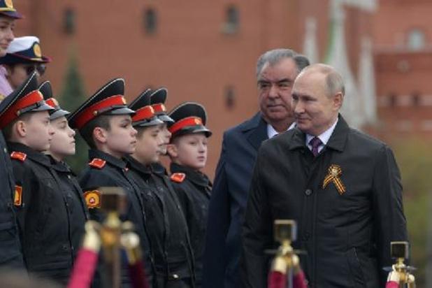 """Commémorations de 1945: la Russie défendra """"fermement"""" ses interêts, proclame Poutine"""