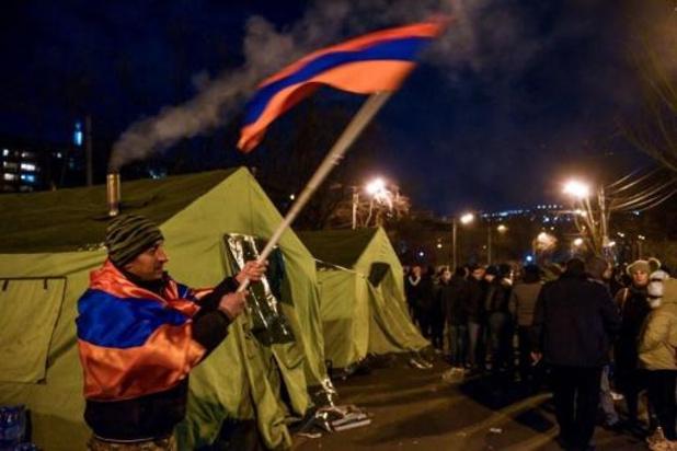 Armeense president weigert legerchef te ontslaan
