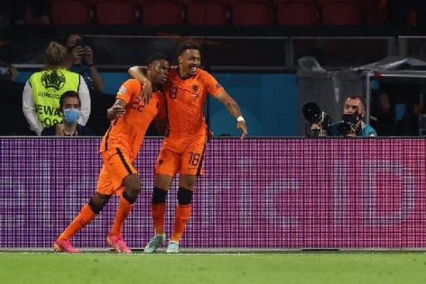 Euro 2020 - Les Pays-Bas qualifiés pour les huitièmes après leur victoire contre l'Autriche