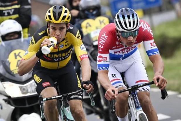 Mathieu van der Poel remporte le 'Ronde' au terme d'un duel royal contre Wout van Aert