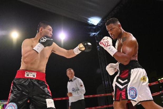 Titelkamp Merhy - Merhy verdedigt WBA-titel met glans, Chinese uitdager knock-out in 8e ronde