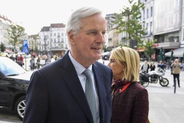 Barnier roept op tot snelle ratificatie van brexitakkoord