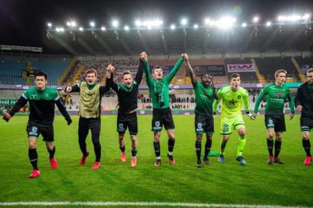 Jupiler Pro League - Le Cercle de Bruges dispose de La Gantoise et signe une quatrième victoire de rang