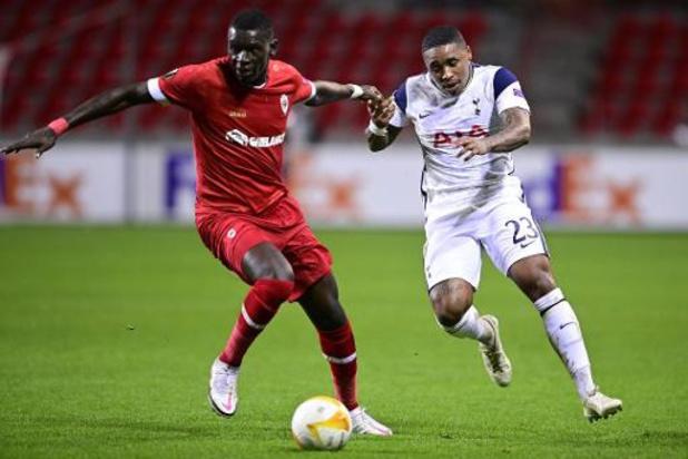 Pour Jukleröd et Seck, l'Antwerp va jouer comme contre Tottenham