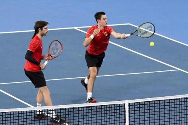 Australian Open - Sander Gillé en Joran Vliegen nemen eerste horde