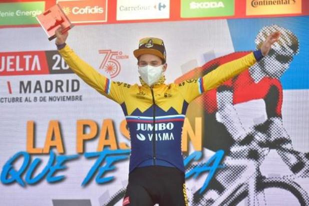 Vuelta: Roglic grijpt de macht