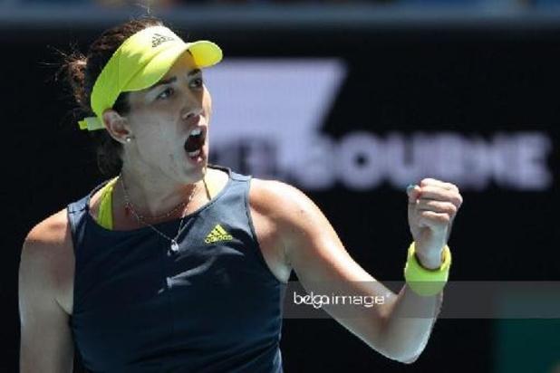 WTA Dubaï - Victoire de Garbiñe Muguruza