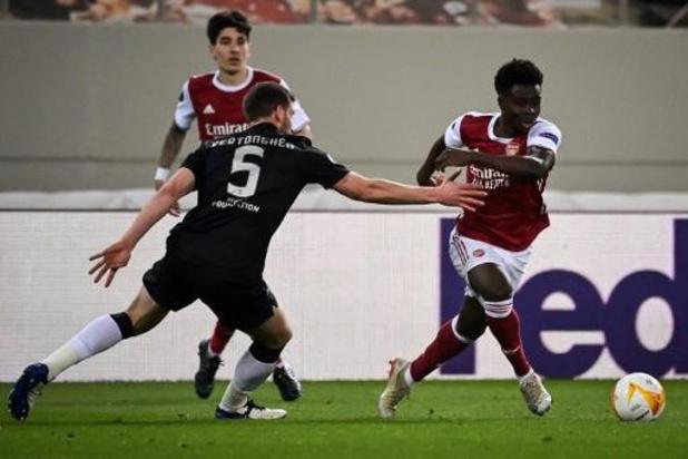 Europa League - Vertonghen en Benfica gaan eruit tegen Arsenal