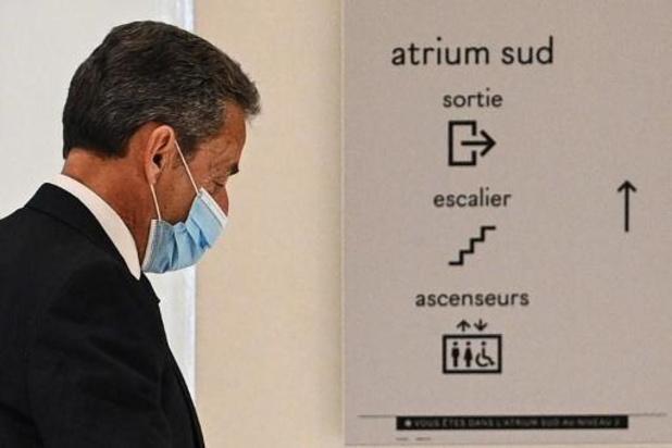 Nicolas Sarkozy gaat in beroep tegen veroordeling