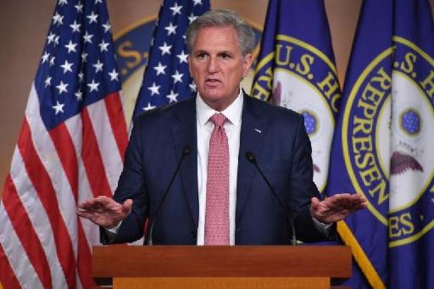 Capitool bestormd: Leiding van Republikeinen in Congres tegen onderzoekscommissie bestorming Capitool